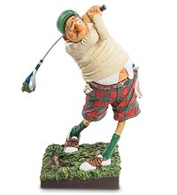 "FO-85504 Статуэтка ""Гольфист"" (Fore..! The Golfer. Forchino)"