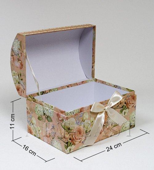 Сделать сундучок из картона своими руками